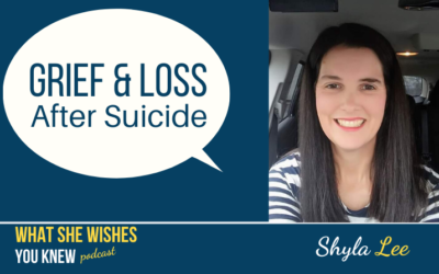 Her Dad Commited Suicide, What Do I Say? – Shyla Lee #3