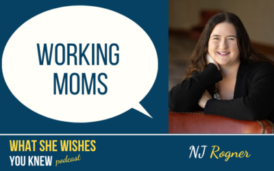 Working Mom, Is She Less Than In The Church? – NJ Rongner #14